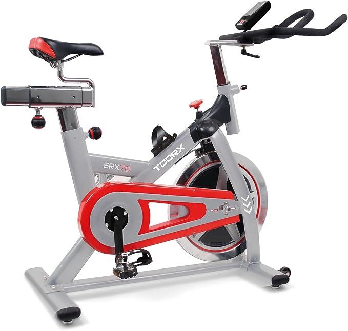 TOORX. Bicicleta de spinning SRX 70: Amazon.es: Deportes y aire libre
