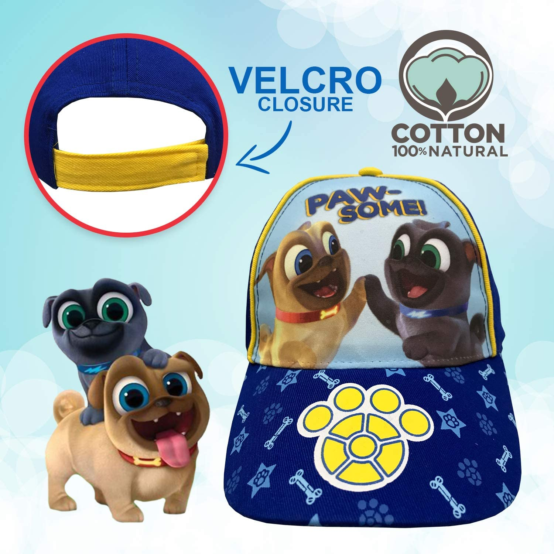 Disney Junior Puppy Dog Pals Toddler Baseball Cap Hat: Clothing