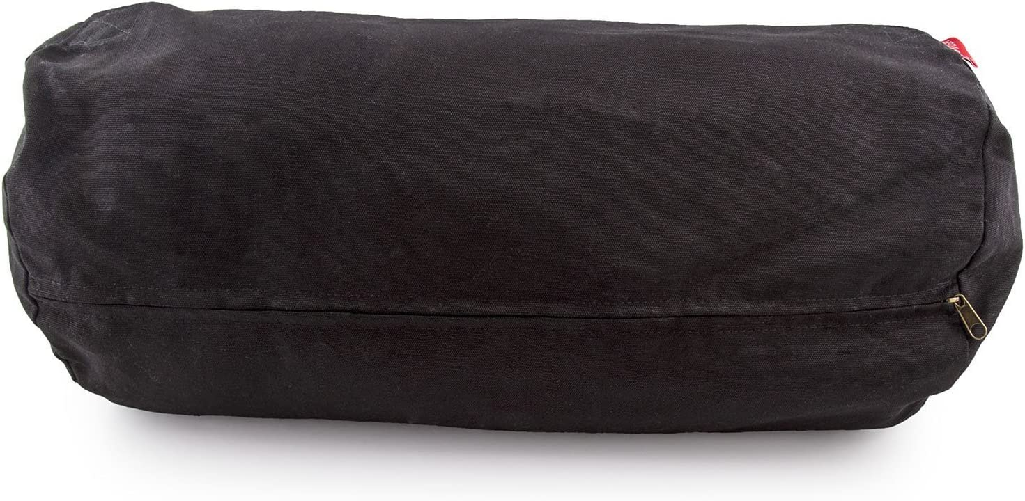 Peace Yoga Zafu Meditation Yoga Cotton Cylinder Bolster Pillow Cushion - Choose Your Color