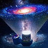 Lampara proyector estrellas bebe - Proyector estrellas techo con cable USB proyector luz bebe, Lampara proyector…