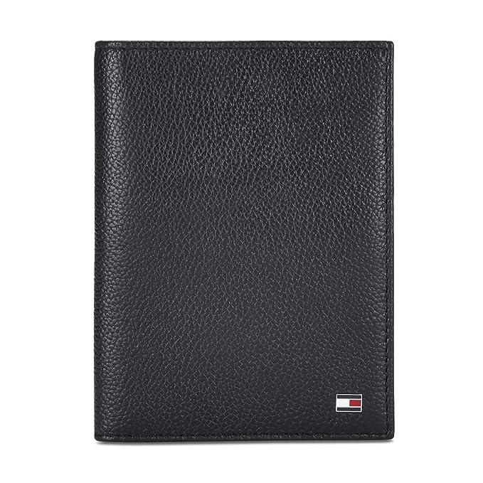 Tommy Hilfiger Men\'s Leather Wallet  Black