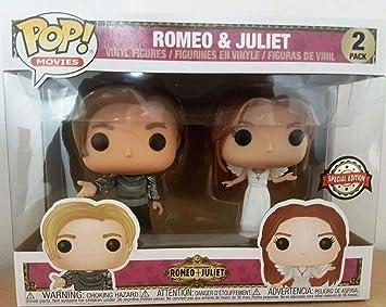 Funko - Figurine Romeo & Juliet - 2-Pack Romeo & Juliet Exclu Pop ...