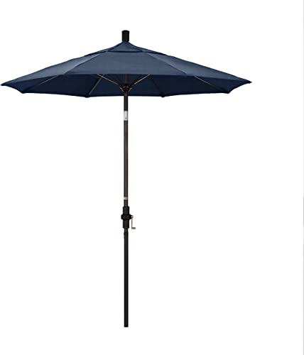 California Umbrella Round Aluminum Pole Fiberglass Rib Market Umbrella