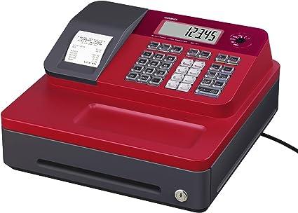Casio SE-G1 SB-RD Caja registradora, rojo y negro: Amazon.es ...