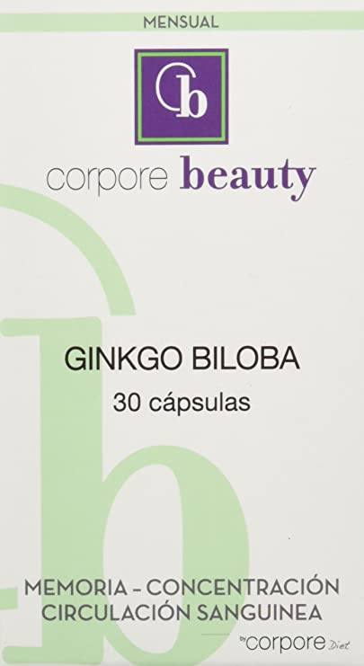 Corpore Beauty Ginkgo Biloba - 30 Cápsulas: Amazon.es: Salud ...