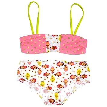 a441e472b1263 Splash About Girls  Designer Bandeau Bikini-L Histoire De Birdy