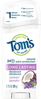 product image for TOM'S OF MAINE Deodorant, Coconut, Lavender, 2.5 Pound
