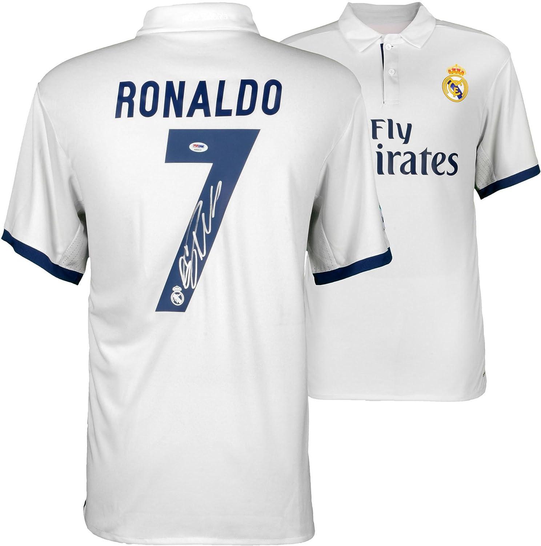 watch 540ed f0ffe Cristiano Ronaldo Real Madrid Autographed 2016-17 Home ...