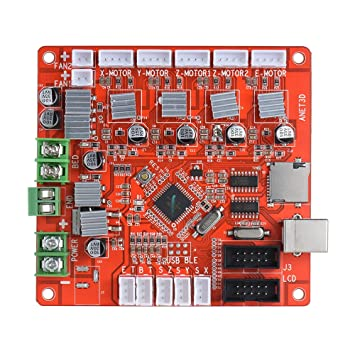 KKmoon Anet A1284-Base Control Board Placa Madre DIY Auto ...