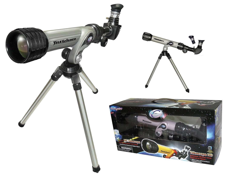 Hd teleskop fernrohr inkl. stativ für kinder und: amazon.de: kamera