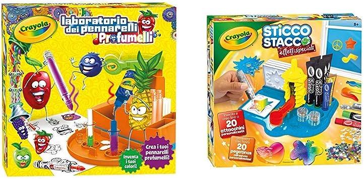 Set Ricarica Laboratorio dei Pennarelli Profumelli per 12 Colori Crayola 25-7245
