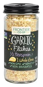 Frontier Natural Products Garlic Flakes, 2.64-Ounce