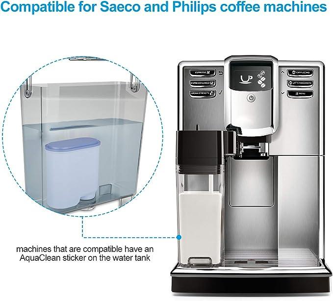 Filtro de Agua para Cafeteras Philips , Homegoo Prevención de Cal ...