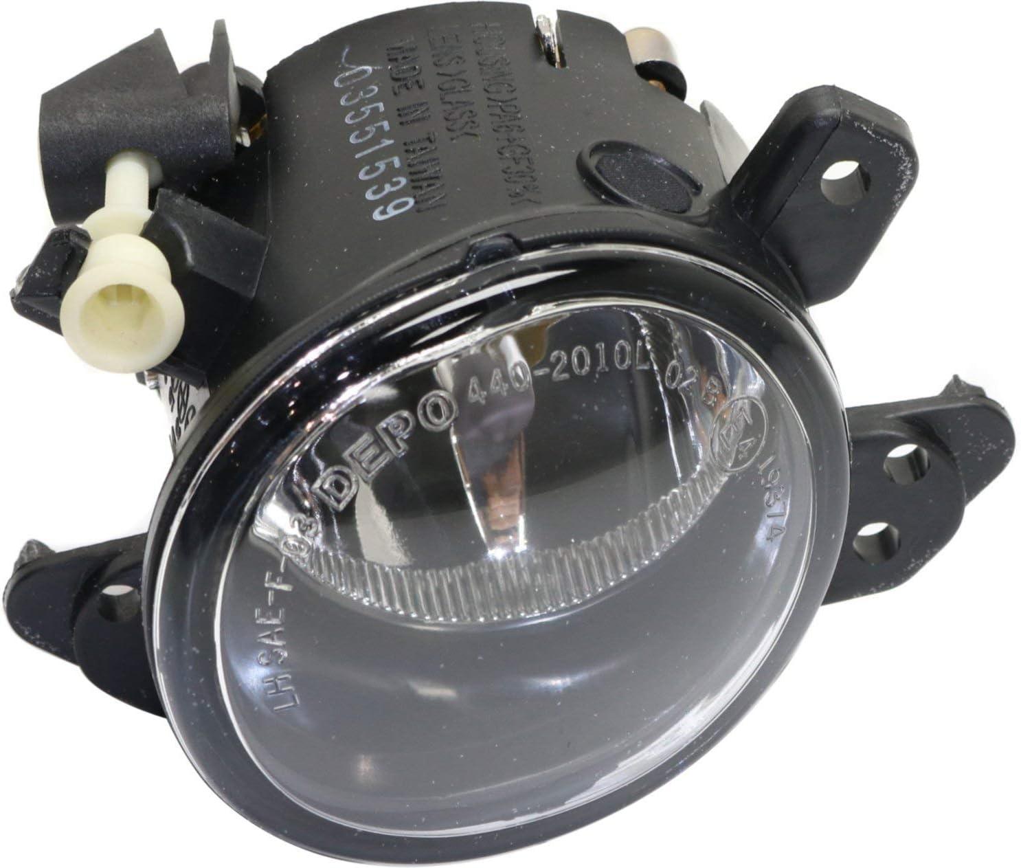 Pair 06-10 Benz W164 Fog Lights Front Lamps Clear Lens Set