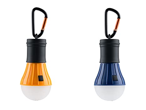 Acecamp lampada da campeggio a led impermeabile con batterie e