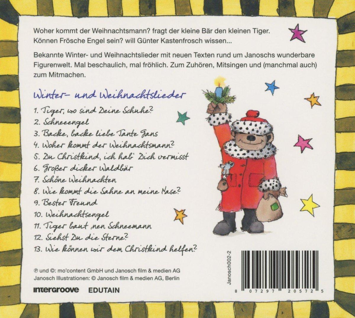 Janoschs Schönste Weihnachtslieder - Janosch: Amazon.de: Musik