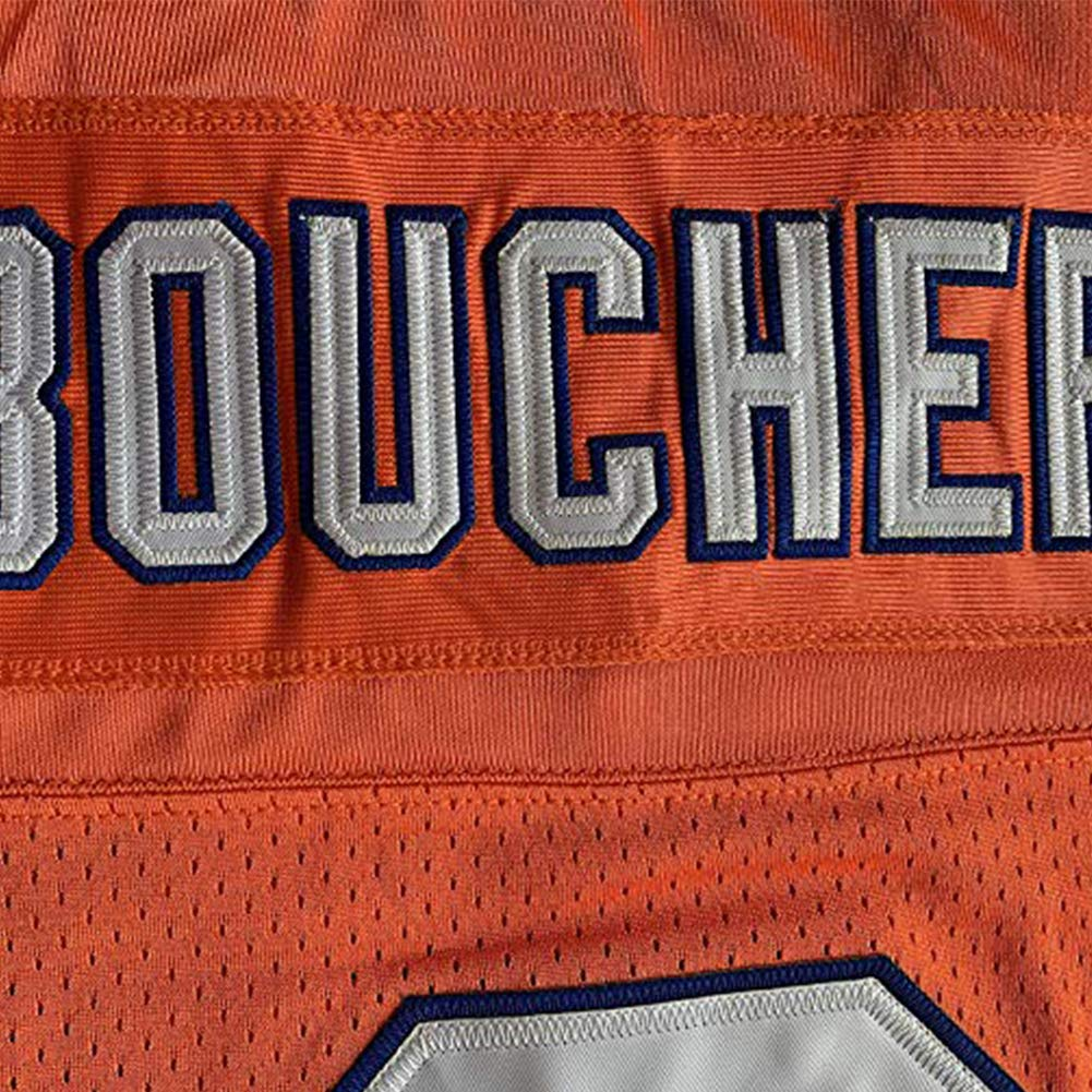 oldtimetown Bobby Boucher #9 The Waterboy Adam Sandler Movie Mud Dogs Bourbon Bowl Football Jersey