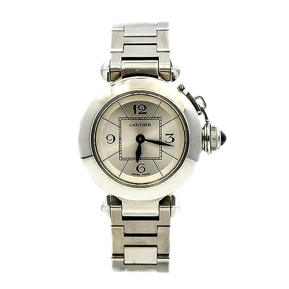 Miss Cartier Pasha Cuarzo Mujer Reloj 2973 (Certificado) de Segunda Mano: Cartier: Amazon.es: Relojes
