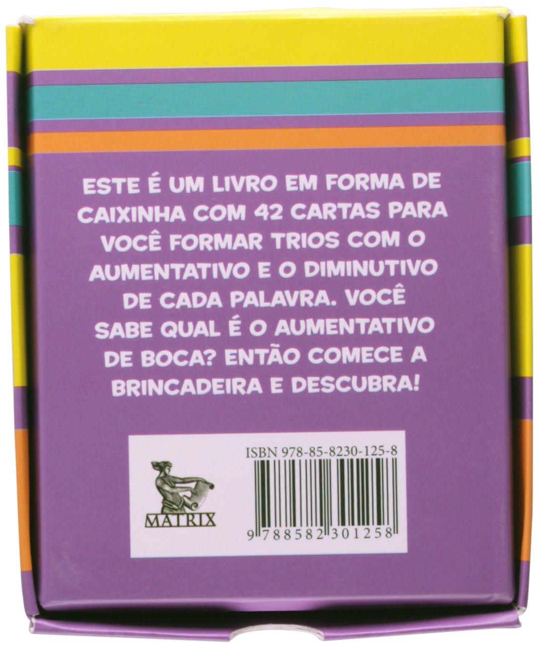 Diminutivo e Aumentativo. Jogo da Memória: Paulo Tadeu ...