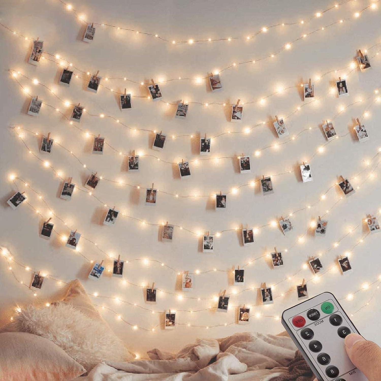 12M Lichterkette Batterie Stimmungslichterkette mit 12 Modi f/ür Weihnachten Innen und Au/ßen-Warmwei/ß 2 Pack PHYSEN 120er LED Lichterkette Kupferdraht Wasserdicht mit Fernbedienung Garten Party
