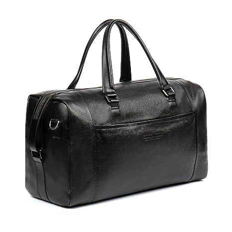 BOSTANTEN Bolso Hombre Cuero de Bolsas Hombre Bolsa equipaje ...