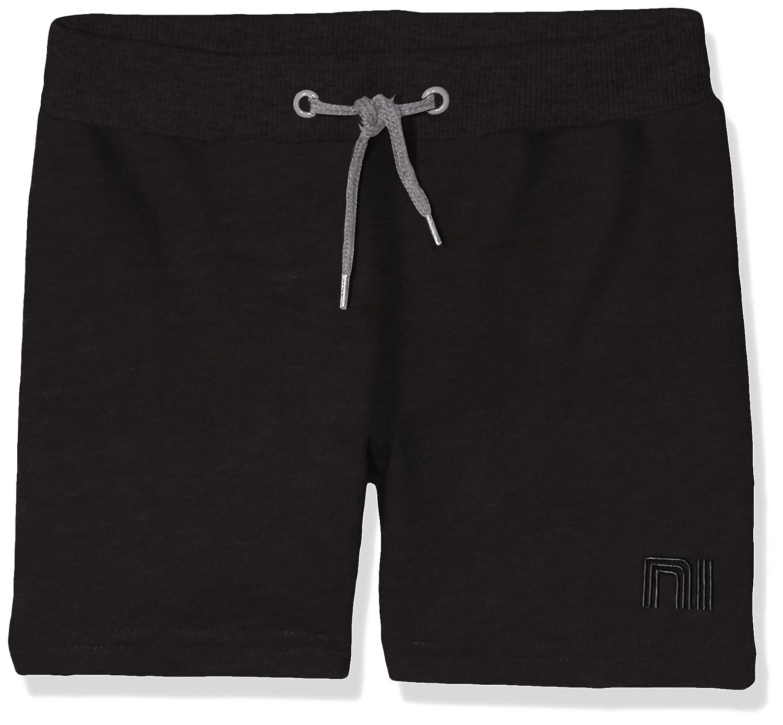 NAME IT Jungen Sweat Kids Long Shorts Unbrushed R Noos Schwarz Black 98 13141368
