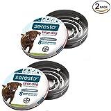 Bayer Seresto Flea and Tick Collar, Large Dog, 2Pack