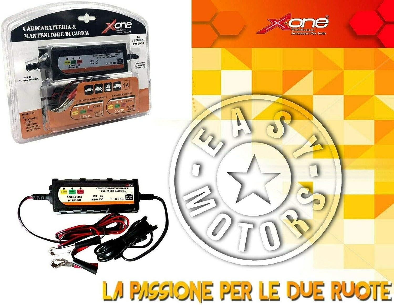 VN900D Caricabatteria e mantenitore di carica automatico Carica batteria EF035 6v e 12v 4-120 AH KAWASAKI VN VULCAN CLASSIC LT 900 06//16