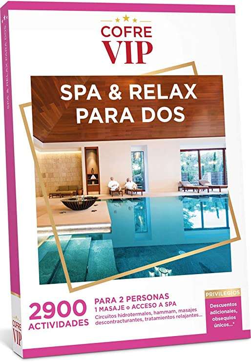 CofreVIP Caja Regalo SPA & Relax para Dos 2.900 Actividades a ...