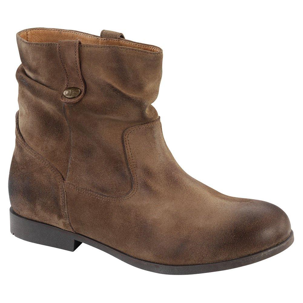 2ab4b261093 Distressed toe and heel Birkenstock Women s Sarnia Waxed Suede Boot    B01AU0TP7I 37 M EU   Boot 6-6.5 ...