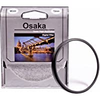 Osaka 72mm Multi Coated UV Filter MCUV 4 Layer Coating Compatible with All Lenses Having 72 mm Filter Thread Including Canon ef 85mm f/1.2l ii USM,Canon ef 28-135mm f/3.5-5.6