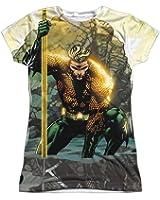 Sublimation: Junior Fit - Good vs Evil Aquaman T-Shirt