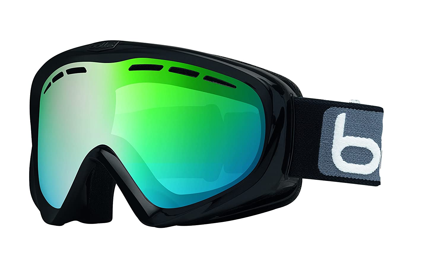 Direct 21603 Bolle Y6 OTG Goggles Green Emerald One Size Pro-Motion Distributing