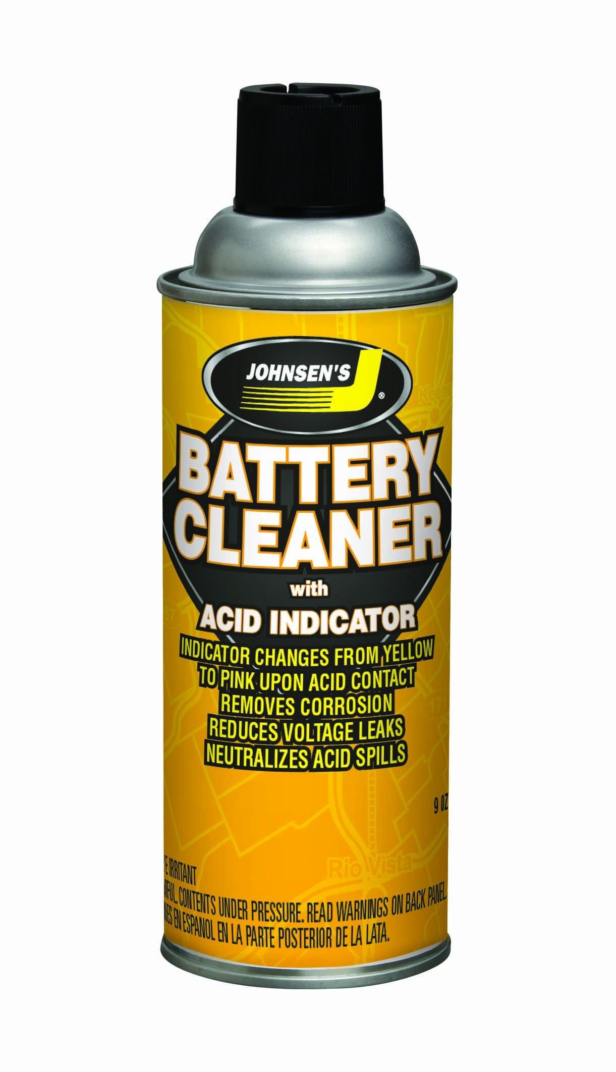 Johnsen's 4606 Battery Terminal Cleaner - 9 Ounce