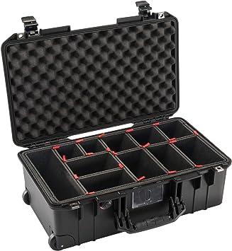 caso no incluido. Sistema divisor TrekPak para adaptarse a la caja de aire Pelican 1535