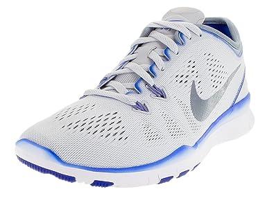 size 40 05d8a b0fa2 Nike Womens Free 5. 0 Tr Fit 5 Pr PltnmMTLC Cl GryRCR BlWh Training  Shoe 6 Women US Amazon.in Shoes  Handbags