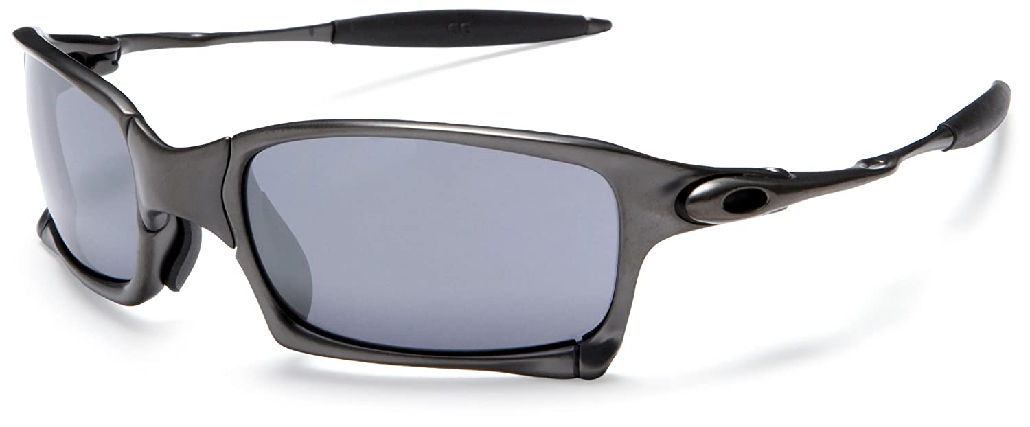 c2bfd995f0f Oakley X-Squared Oo6011-01 Carbon Black Iridium Sunglasses  Amazon.co.uk   Clothing