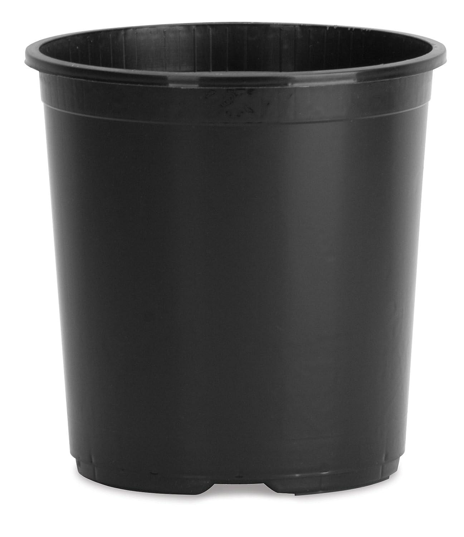 Planters Pride NSR003G0 3-Gallon Black Nursery Planter
