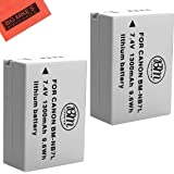 BM Premium 2-Pack Of NB-7L Batteries For Canon PowerShot G10, G11, G12, SX30 IS Digital Camera