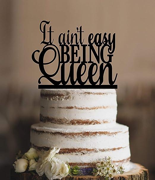 Decoración para tarta de cumpleaños con texto en inglés