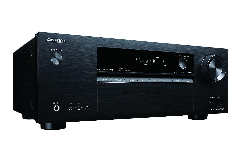 Amazon.com: Onkyo Surround Sound Audio & Video Component Receiver Black  (TX-SR383): Electronics