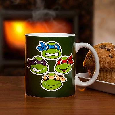 Zak Designs Ninja Turtles Coffee Cup, 11 oz: Toys & Games