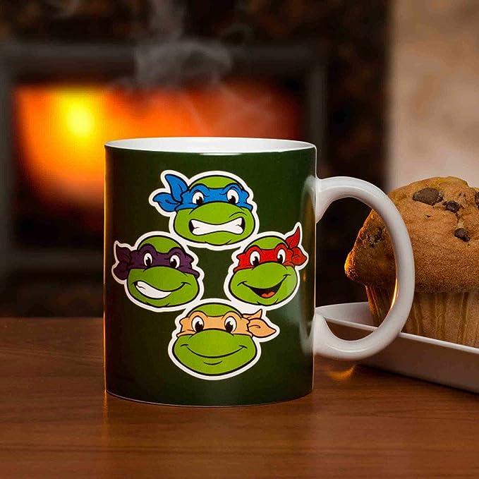 Amazon.com: Zak Designs Ninja Turtles Coffee Cup, 11 oz: Toys & Games