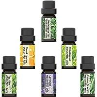 Iextreme Aromatherapy Essential Oils Set 6 Bottles/ 0.34oz each