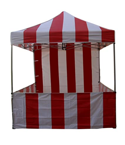 Impact Canopy 8x8 EZ Pop Up Canopy Tent Carnival Vending Includes one Back Sidewall and Three  sc 1 st  Amazon.com & Amazon.com : Impact Canopy 8x8 EZ Pop Up Canopy Tent Carnival ...