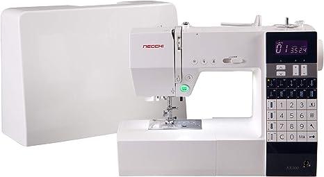 Necchi EX100 - Máquina de coser, color blanco: Amazon.es: Hogar