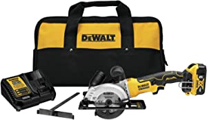 DEWALT ATOMIC 20V MAX Circular Saw Kit, 4-1/2-Inch (DCS571P1)