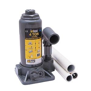 INTEC 410400 Cric Hydraulique à Bouteille, 4 T
