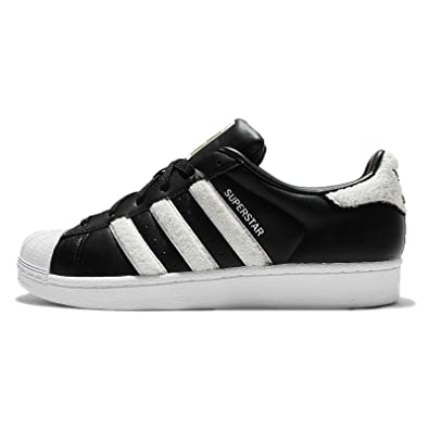 ec9f31abb8d Adidas Superstar W - Noir Blanc - Taille 40 FR  Amazon.fr ...