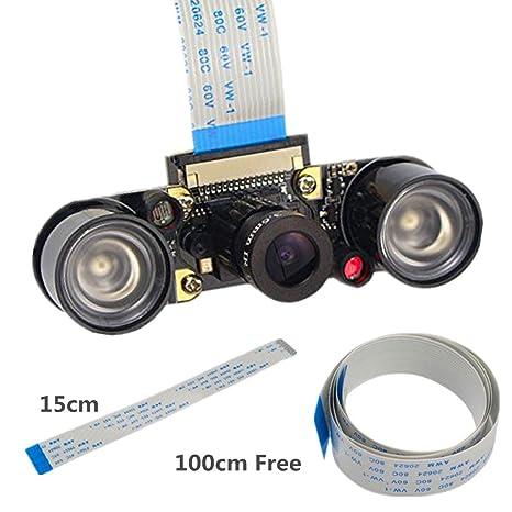IZOKEE Raspberry Pi Camera IR Filter Night Vision: Amazon co